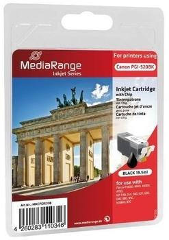 MediaRange kompatibel zu Canon PGI-520BK schwarz (MRCPGI520B)