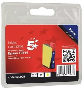 5-star-kompatibel-zu-epson-t0544-gelb