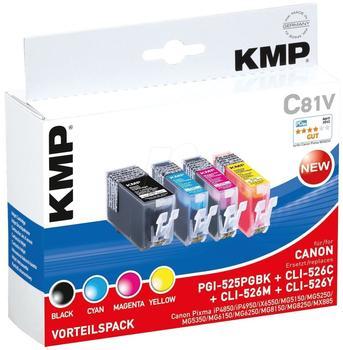 KMP C81V ersetzt Canon PGI-525PGBK/CLI-526 (1513,0050)