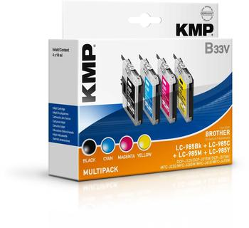 KMP B33v ersetzt Brother LC-985 (1523,0050)