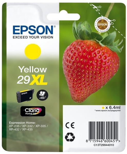 Epson 29XL gelb (C13T29944010)