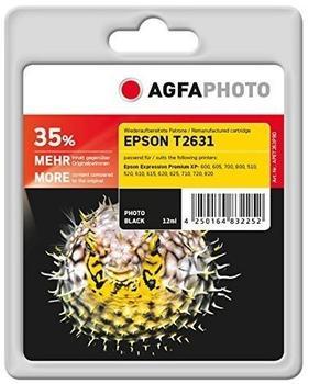 AgfaPhoto APET263PBD ersetzt Epson T2631 schwarz