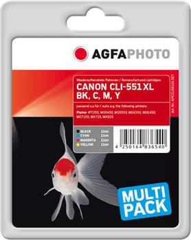 agfaphoto-apccli551xlset-cyan-magenta-gelb