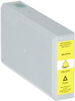 Logic-Seek Tintenpatrone für Epson C13T79144010 Yellow 32ml,