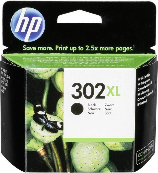 HP 302XL - Schwarz, - Original - Tintenpa