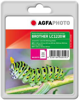 AgfaPhoto APB1220MD ersetzt Brother LC-1220M magenta