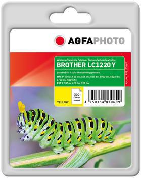 AgfaPhoto APB1220YD ersetzt Brother LC-1220Y gelb