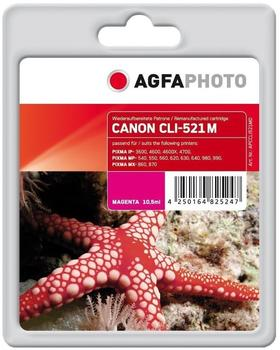 agfaphoto-tintenpatrone-fuer-canon-cli-521m-2934b001-magenta