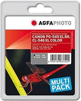 agfaphoto-apc545-546xlset-ap-can-mg2450-no-chip-fun400p-bk300p-col-apc545cl546xlset