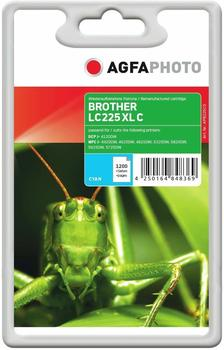 AgfaPhoto APB225CD ersetzt Brother LC-225XLC cyan