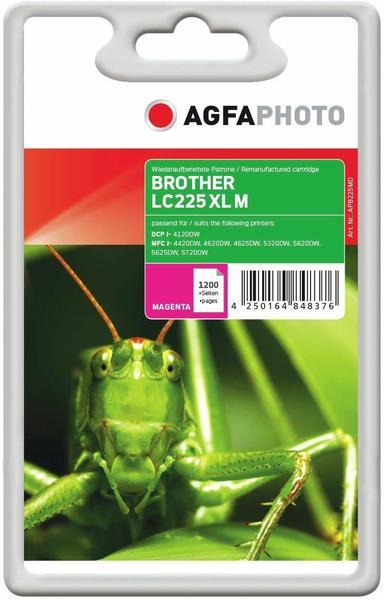 AgfaPhoto APB225MD ersetzt Brother LC-225XLM magenta