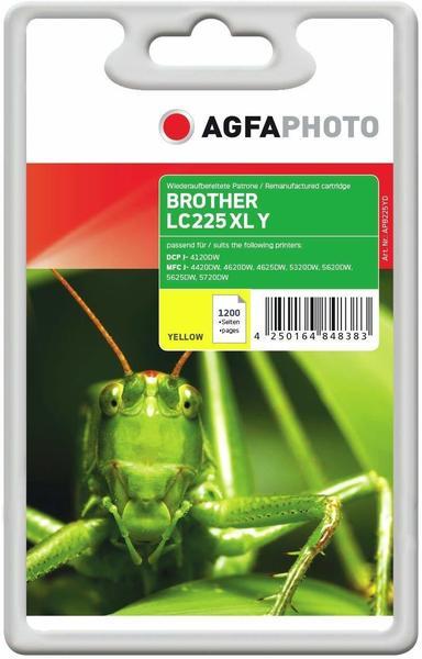 AgfaPhoto APB225YD ersetzt Brother LC-225XLY gelb