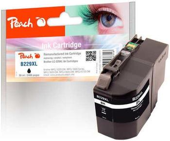 Peach B229XL schwarz ersetzt Brother LC-229XLBK schwarz