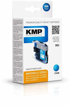 KMP B52 ersetzt Brother LC-225XLC Cyan