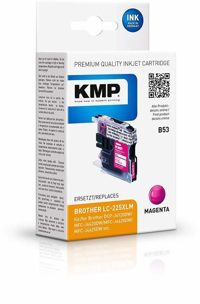 KMP B53 ersetzt Brother LC-225XLM magenta