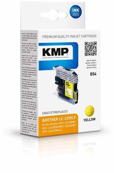 KMP B54 ersetzt Brother LC-225XLY gelb