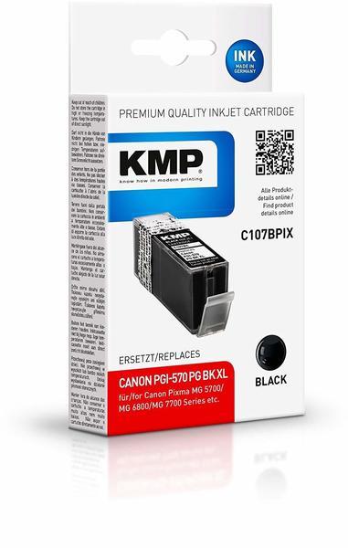 KMP C107BPIX schwarz