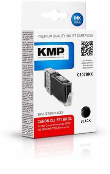 KMP C107BKX schwarz