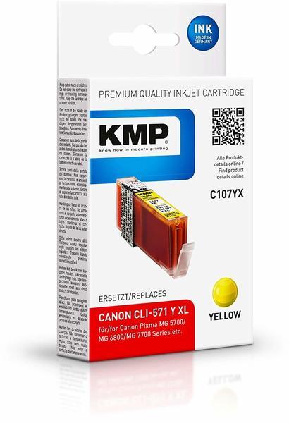 KMP C107YX Yellow