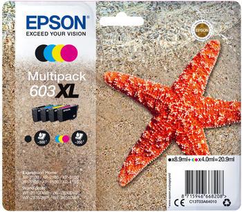 Epson 603XL Multipack 4-farbig (C13T03A64010)