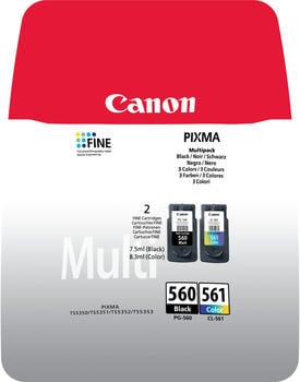 Canon PG-560/CL-561 schwarz + color