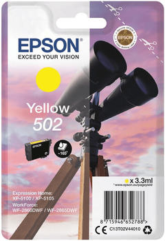 Epson 502 gelb (C13T02V44010)