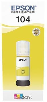 Epson 104 gelb (C13T00P440)