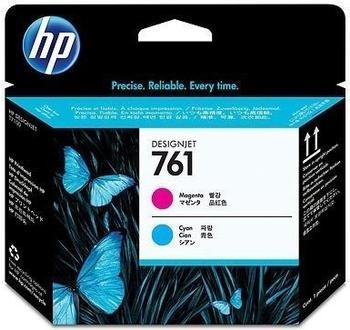 HP Nr. 761 (CH646A) magenta + cyan