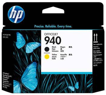 HP Nr. 940 schwarz + gelb (C4900A)