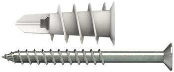 TOX Spiral 32 mm mit Schraube 50 St. Dübel und 50 Schrauben (068101231)