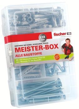 Fischer Meister-Box mit UX+Schrauben+Haken 118 St. 513894