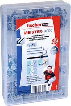 Fischer Meister-Box mit GK-Dübel,Schrauben,Haken 101 St. 513892