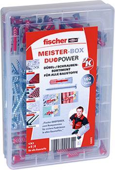 Fischer Meister-Box DUOPOWER + Schrauben 160-teilig (535972)