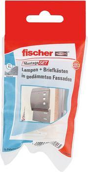 Fischer Montageset Lampen + Briefkasten (534576)