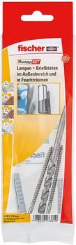 Fischer Montageset Lampe + Briefkasten (534577)