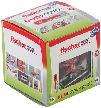 Fischer Duopower 8 x 40 S LD mit Schraube 50 Stück (535460)
