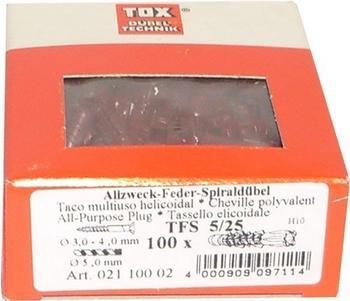 TOX TFS 5x25 100 St. 12100021