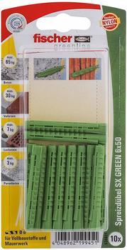 Fischer SX Green 6 x 50 K 10 St.