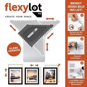 flexylot Bildaufhängung FIX 2er-Set