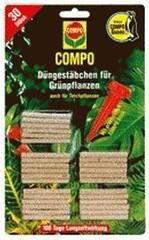 Compo Düngestäbchen plus Guano für Grünpflanzen CDGR (2064)