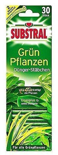 Substral Dünger-Stäbchen für Grünpflanzen 30 St