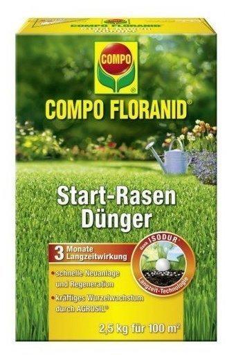 Compo Floranid Rasen Start-Dünger 2,5 kg