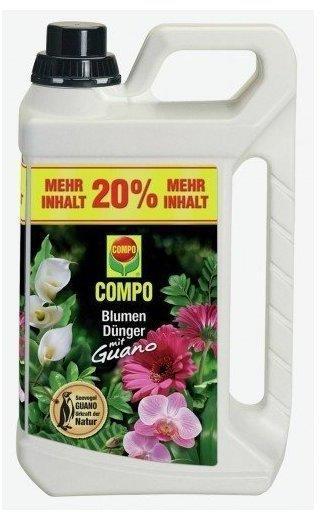 Compo Blumendünger mit Guano 3 Liter