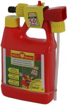 Wolf-Garten Flüssig-Langzeit-Rasendünger LL 100 B (Sprühflasche)