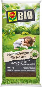 Compo Bio Naturdünger für Rasen mit Guano 10,05 kg