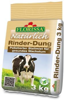 Florissa Natürlich Rinder-Dung 3 kg