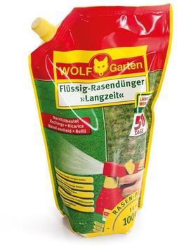Wolf-Garten Flüssig Langzeit-Rasendünger LL 100 R (Nachfüllpack)