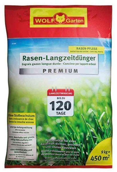 Wolf-Garten Rasen-Langzeitdünger Premium LE 450m²