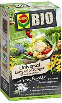 Compo Bio Universal Langzeit-Dünger mit Schafwolle 2 kg