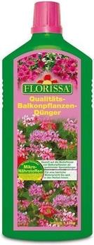 Florissa Balkonpflanzen-Dünger mit Mikronährstoffen 1L